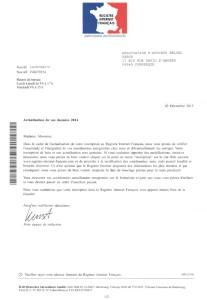 Arnaque au registre internet français